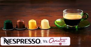 nespresso vs arissto